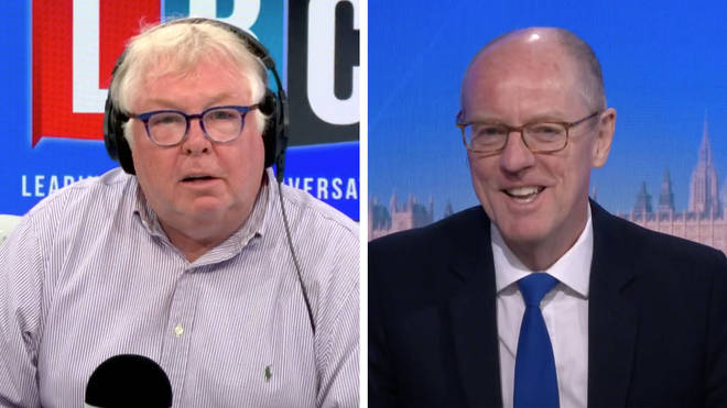 Nick Ferrari was shocked by the answer from Schools Minister Nick Gibb