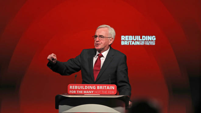 John McDonnell has said any new referendum should be on the deal