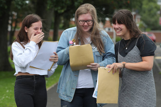 A-level results day 2020