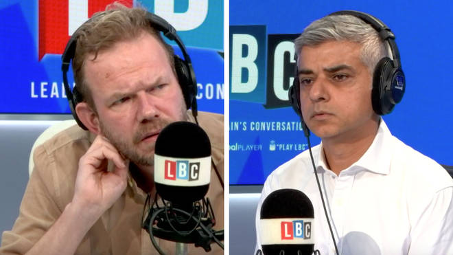 James O'Brien received lots of messages saying Sadiq Khan was wrong