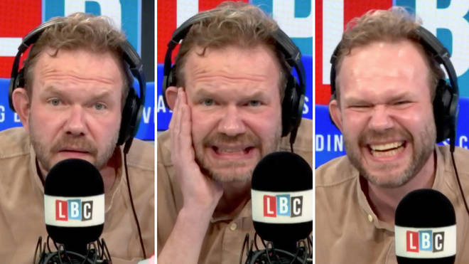 James O'Brien had a range of reactions to Aaron's impressive call