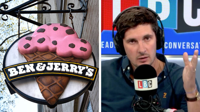 Tom Swarbrick was shocked by what a caller told him during the Ben & Jerry's debate