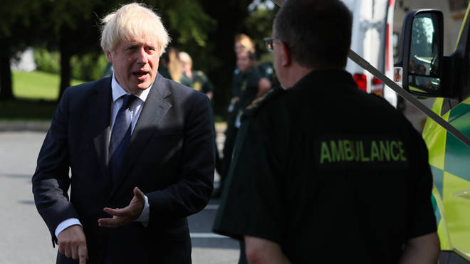 "Boris Johnson defended the A-level marking system as ""robust and dependable"""