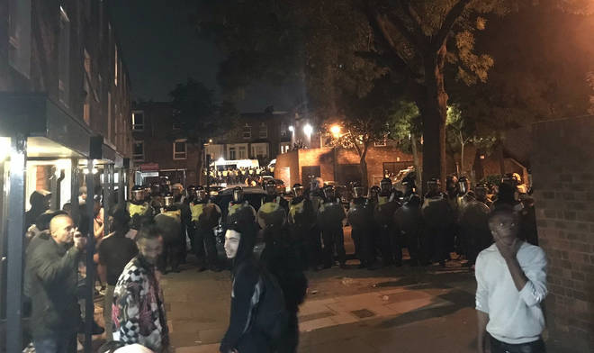 Illegal raves have blighted London during the lockdown
