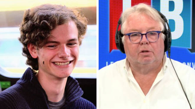 Nick Ferrari spoke to Curtis Parfitt-Ford who set up the petition