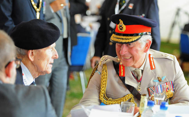 The VJ Day services will be lead by the Prince of Wales