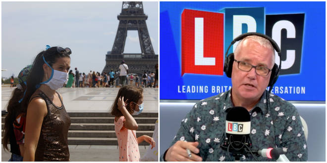 """Simon told LBC&squot;s Eddie Mair that it seems apparent """"nobody in government has thought"""" about the measures for ferry passengers arriving on the cusp of cut-off."""