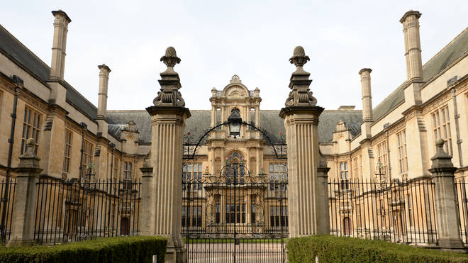 The admissions college at Oxford