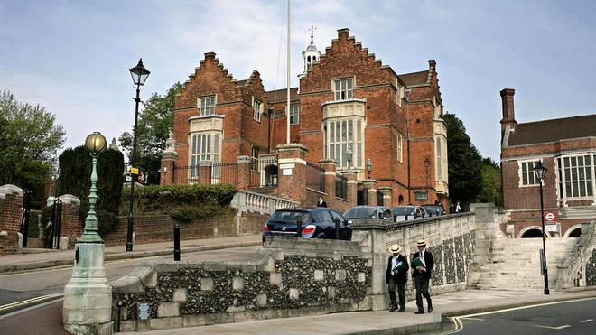 Nicole's sons attend Harrow School in west London