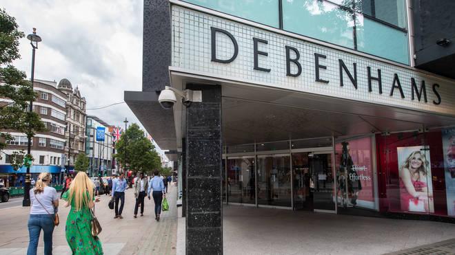 "Debenhams is considering liquidation ""contingency plans"""