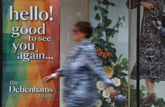 Several Debenhams stores will not reopen