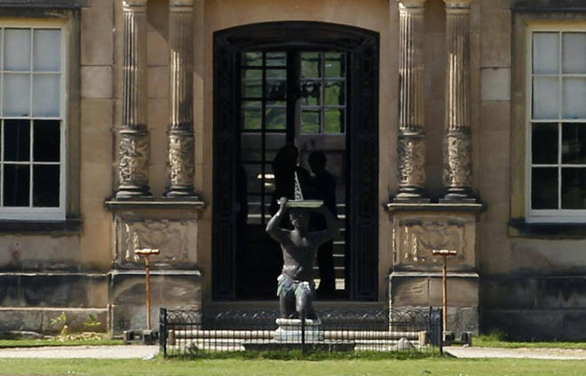 Dunham Massey stately home in Altrincham features a statue of a black man