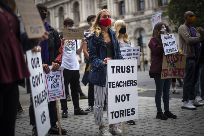 There is mounting fury over the grades fiasco
