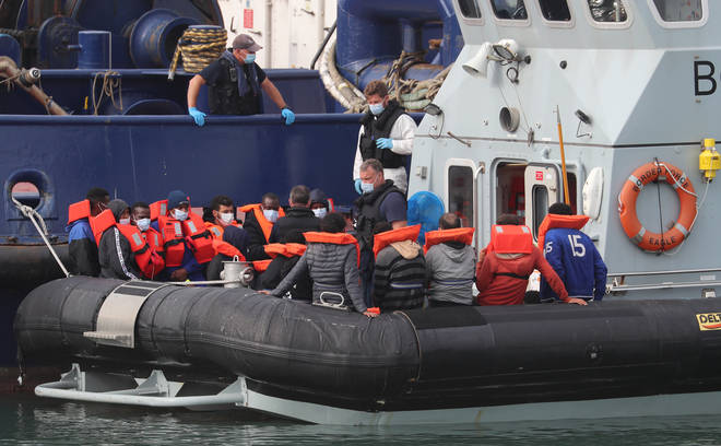 Dozens more migrants arrived on 15 August