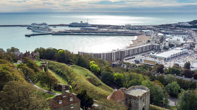 Dover Harbour has been closed to swimmers until further notice