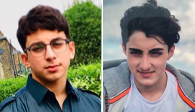 Brothers Muhammad Azhar Shabbir, 18, and Ali Athar Shabbir, 16