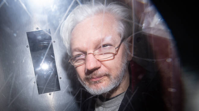 Assange is fighting to avoid being sent to the US to face 17 charges under the Espionage Act and conspiracy to commit computer intrusion