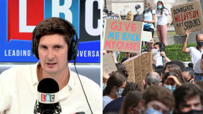 Lord Lucas has told LBC that he wouldn't be surprised if Gavin Williamson was sacked after the A-Level scandal