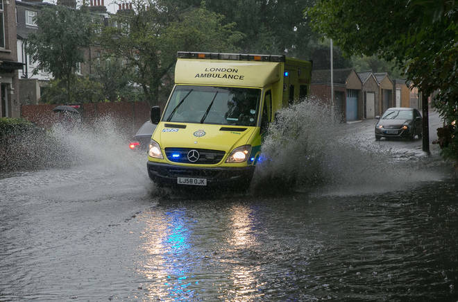 Warnings have been issued for potential flash flooding