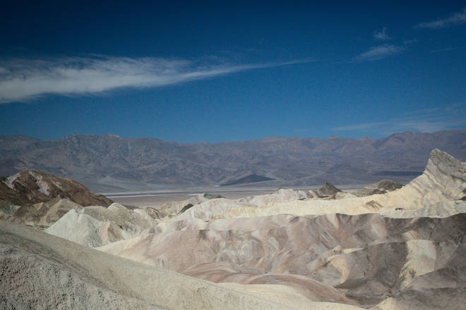 Death Valley National Park, California, is one of the hottest places on Earth