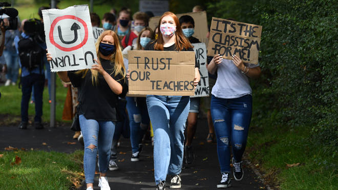 Students call for a u-turn on the government's exam policy