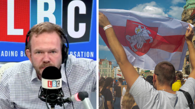 A Belarusian journalist has told LBC about his experience of the his country's regime