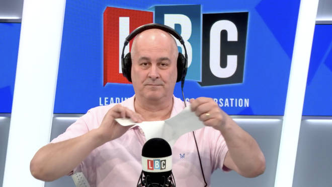 "Iain Dale branded the Government&squot;s handling a ""travesty"""
