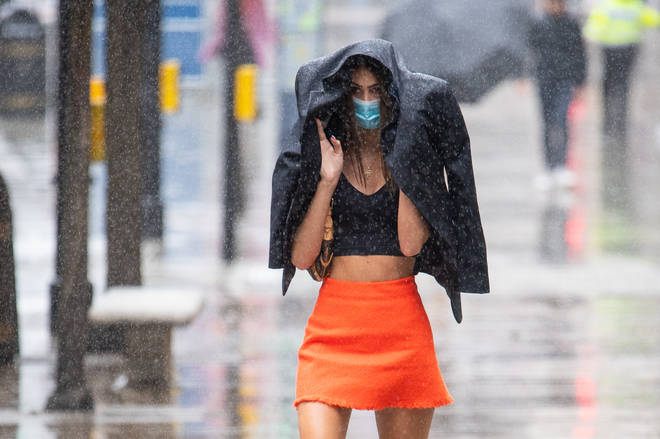 The country is set to be hit by winds and heavy rains