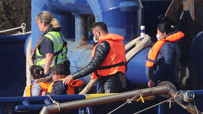 More than 4,000 migrants have made it into the UK so far this year after completing the voyage across the English Channel, with at least 597 arriving between Thursday and Sunday