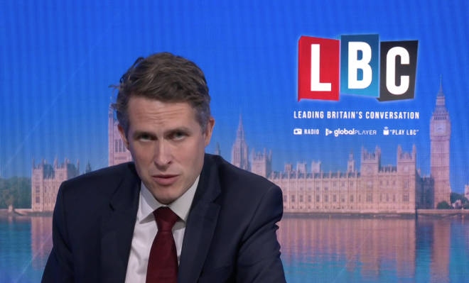 The Education Secretary was speaking to LBC the day after the announcement was made