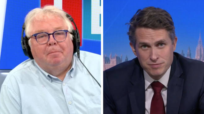 Gavin Williamson refused to tell Nick Ferrari whether he's offered to resign as Education Secretary over the A-levels fiasco.