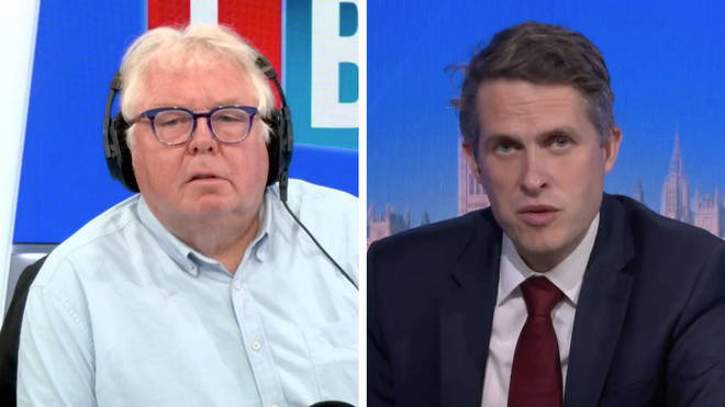 Nick Ferrari asked Gavin Williamson if he had any confidence in Qfqual