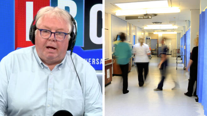 Nick Ferrari fell out with a medical student over the term 'going blue'
