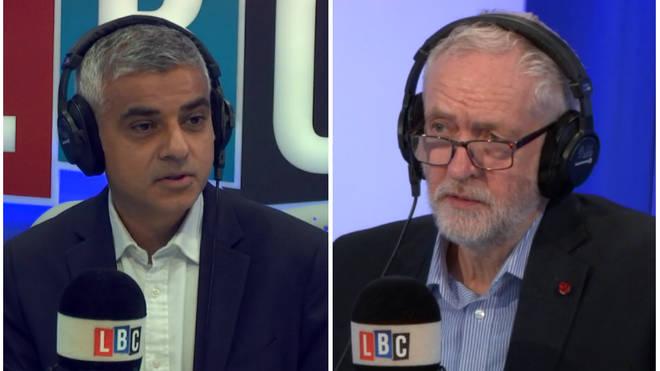 Khan & Corbyn