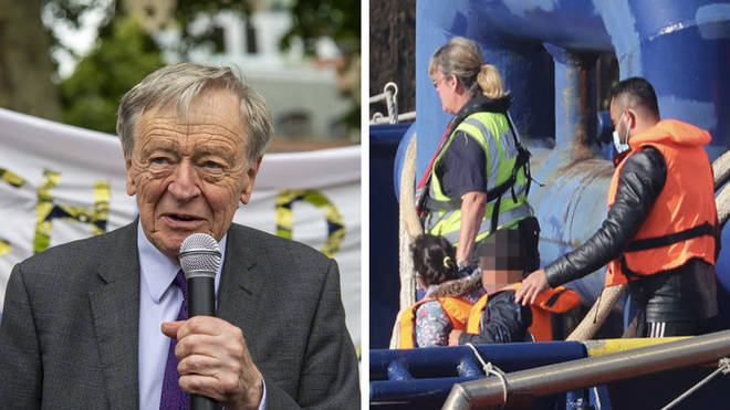 """We are a humanitarian country, we can do this,"" Lord Alf Dubs told LBC"