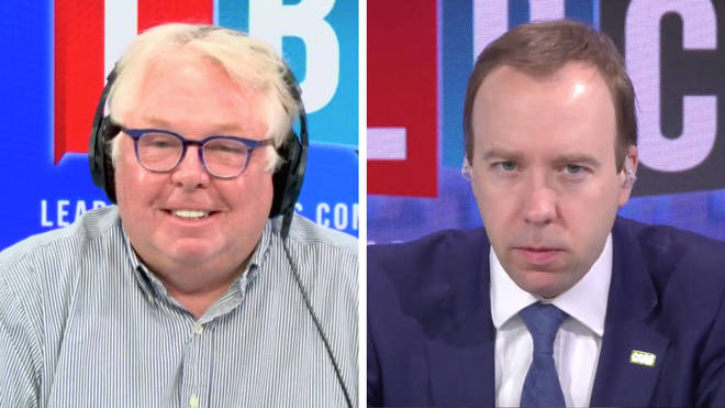 Nick Ferrari challenged Matt Hancock about the newly-formed health body