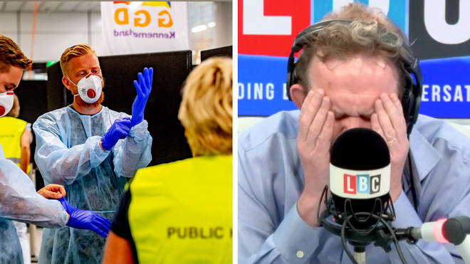 James O'Brien told a caller to re-think her plan to refuse to quarantine