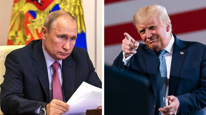 A Senate report showed evidence of collusion between Donald Trump and Russia