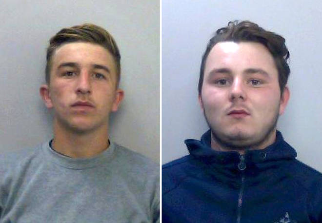 Jessie Cole (left) and Albert Bowers, two of Pc Andrew Harper's killers, who have launched appeals against their manslaughter convictions