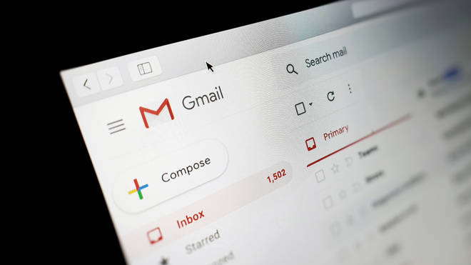User have reported Gmail is down for them