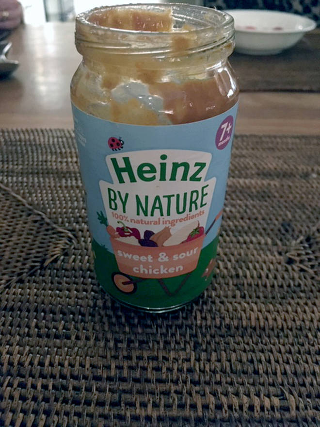 Heinz baby food that was laced with fragments of a craft knife by Nigel Wright, 45, as part of a plot to blackmail the supermarket chain
