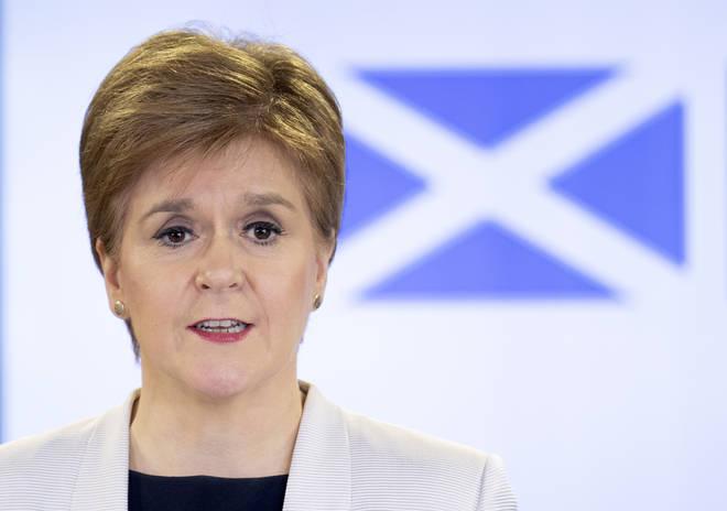File photo: Scottish First Minister Nicola Sturgeon