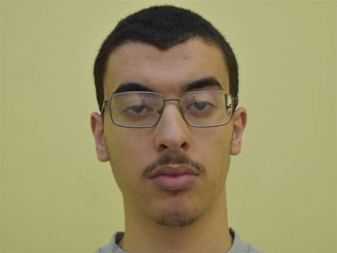 Jailed: Hashem Abedi, younger brother of the Manchester Arena bomber Salman Abedi