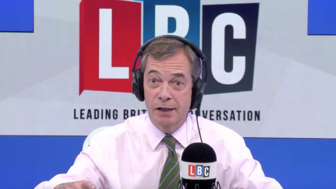 Nigel Farage warns Labour over second referendum