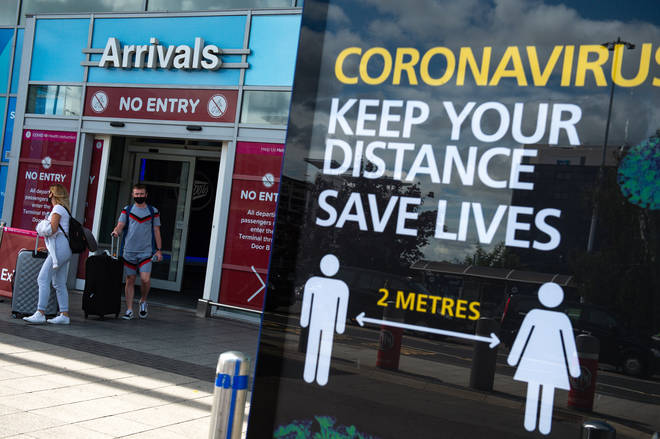 New countries have been added to the UK's coronavirus quarantine list
