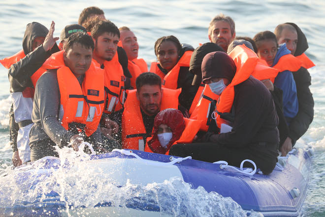Record numbers of migrants have been making the perilous crossing in recent months