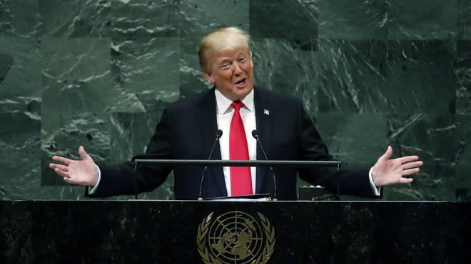 Donald Trump at the UN