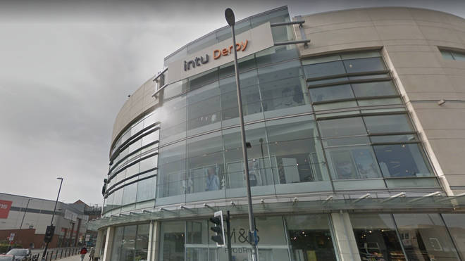 """Intu Derby has been closed following reports of a """"suspicious package"""""""