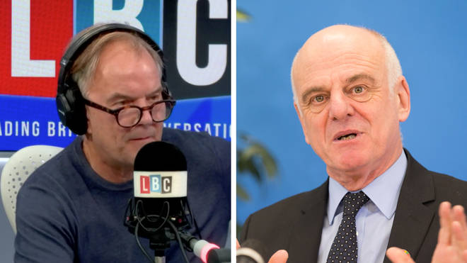 Dr David Nabarro has told LBC that he dislikes the phrase 'lockdown'