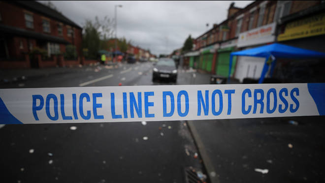 A man is fighting for life after the attack